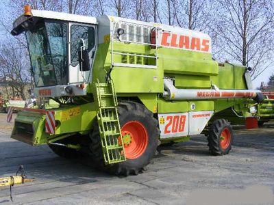 kombajn CLAAS MEGA 208