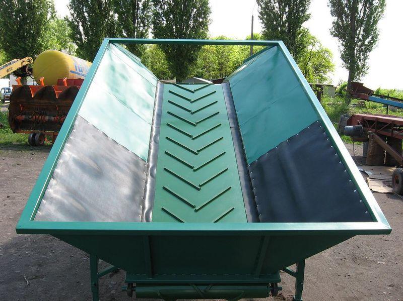 novi prijemni bunker GRIMME
