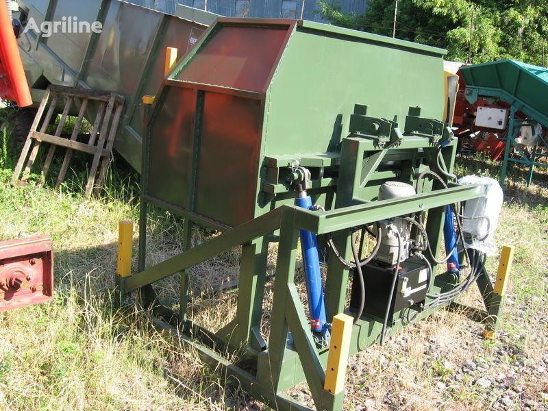 novi prijemni bunker KEULMAC oprokidyvatel ovoshchnyh konteynerov