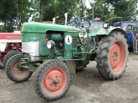 traktor točkaš DEUTZ-FAHR D 25 S-N