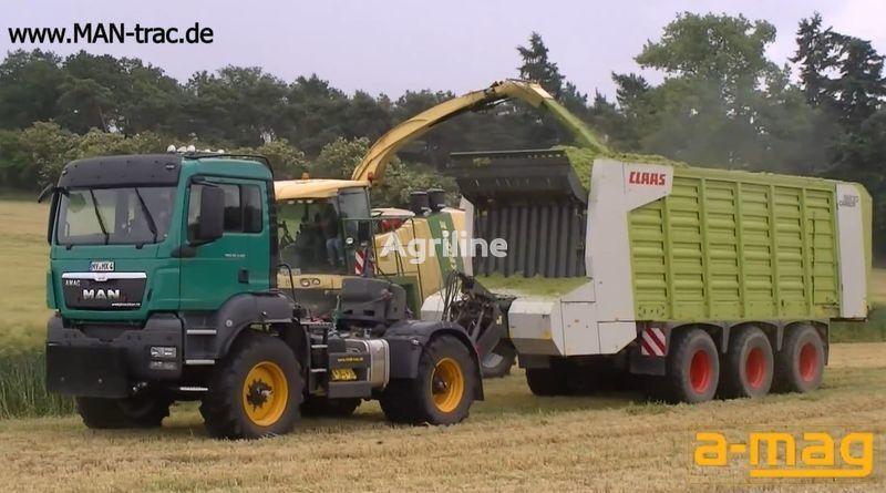 novi traktor točkaš FENDT man-trac.de