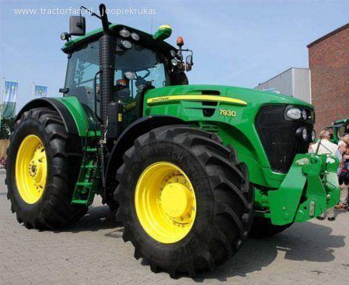 traktor točkaš JOHN DEERE 7930