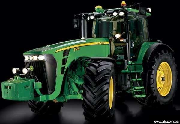 traktor točkaš JOHN DEERE 8430