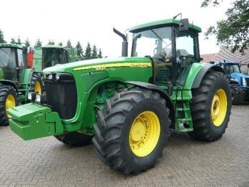 traktor točkaš JOHN DEERE 8520