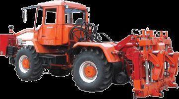 traktor točkaš Universalnaya putevaya mashina UPM-1M na baze traktora HTA-200