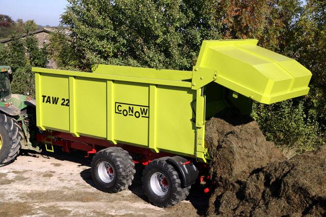 nova traktorska prikolica CONOW TAW 22