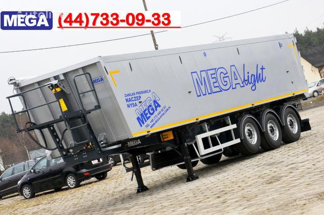 nova poluprikolica kipera KARGOMIL 50 - 42 m³ SUPER LIGHT alu tipper 5,9T- READY TO TAKE !!!