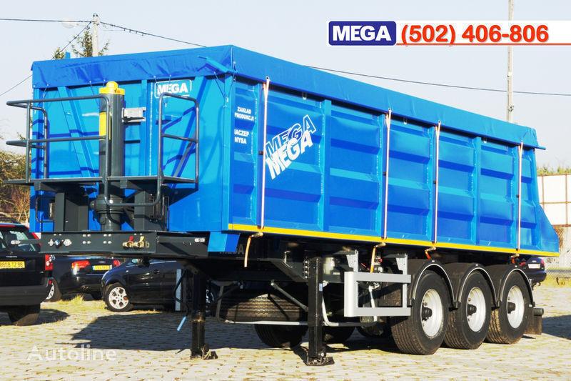 nova poluprikolica kipera MEGA 35/9200 kcc - camosval 35 kub.m., pama k tyagachu 6x4, klapan!