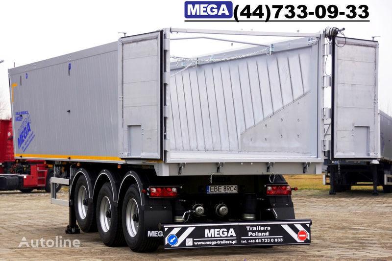 nova poluprikolica kipera MEGA 39/8360KD- camosval 39 kbm, alyuminievyy, klapan-dverey GOTOV!
