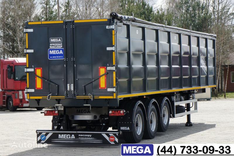 nova poluprikolica kipera MEGA 55 M³ DOMEX/OPTIM 650 STEEL TIPPER / HATCH-DOOR & GRAINHOLES !!