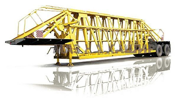 nova poluprikolica sa niskom platformom MAZ 998500