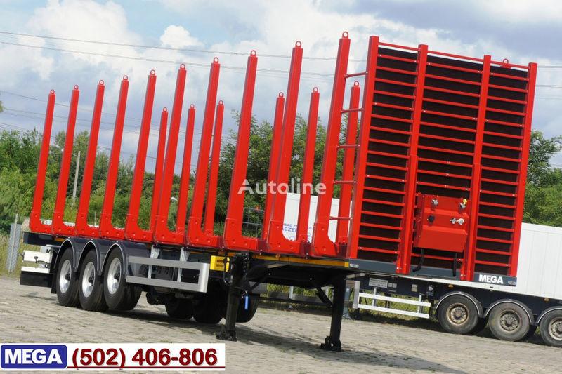 nova poluprikolica za prevoz drva MEGA 2013 SALE !!! WOOD CARIER / 10 STANCHIONS