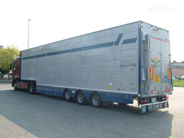nova poluprikolica za prevoz stoke PEZZAIOLI SBA31  3+3 etazha zagruzki