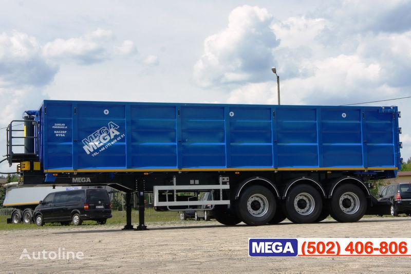 nova poluprikolica za prevoz zrna MEGA 38/10200 KD pama k tyagachu 6x4