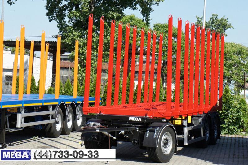 nova prikolica za prevoz drva MEGA 10 stanchions