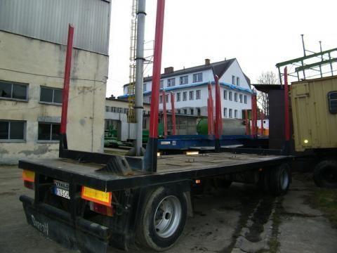 prikolica za prevoz drva TRAILOR R 202 EN 3 L