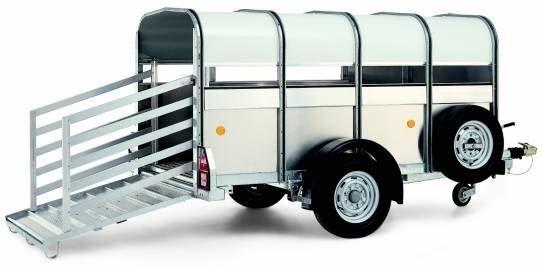prikolica za prevoz stoke WILLIAMS P8