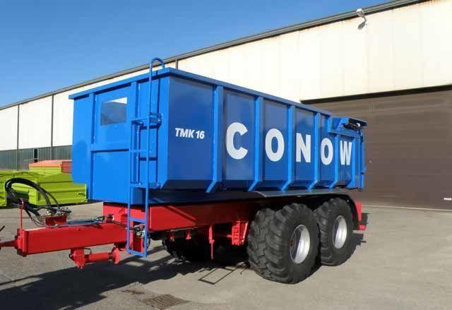 nova prikolica za prevoz zrna CONOW Tandem-Dreiseitenkipper (TMK 16)