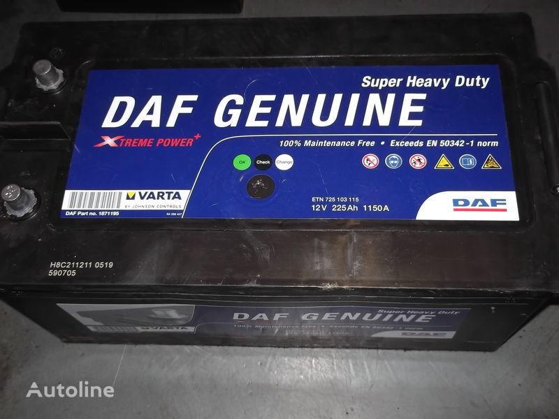 novi akumulator  225Ah DAF XF 105  CF 85 za autobusa