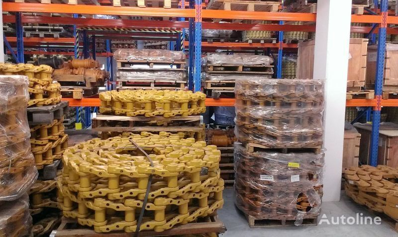 nova gusenice  CATERPILLAR roliki , cep, napravlyayushchie kolesa za buldožera CATERPILLAR D4, D5, D6, D7, D8