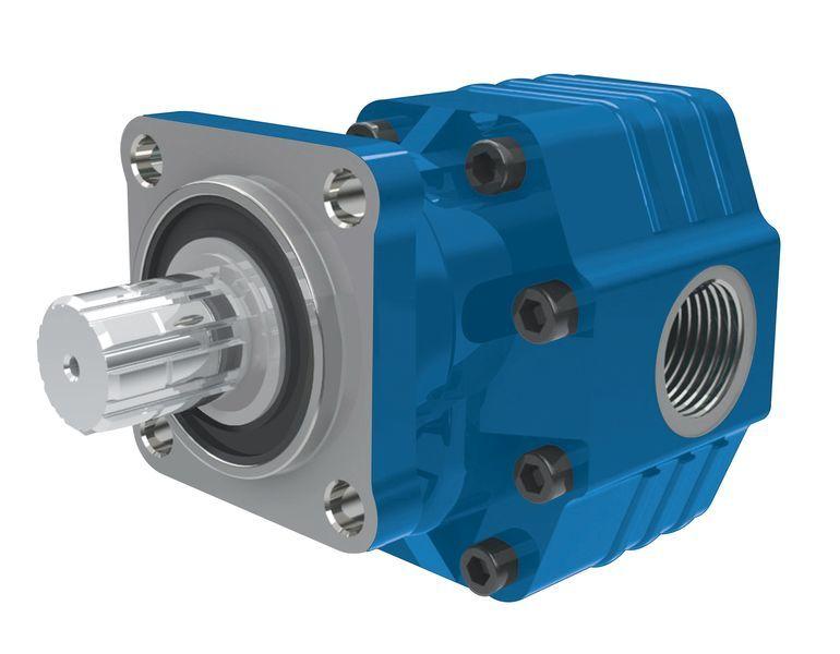 novi hidraulična pumpa  BINNOTTO Italiya ISO 82 l na 4 bolta.Gidravlika dlya samosvala za tegljača