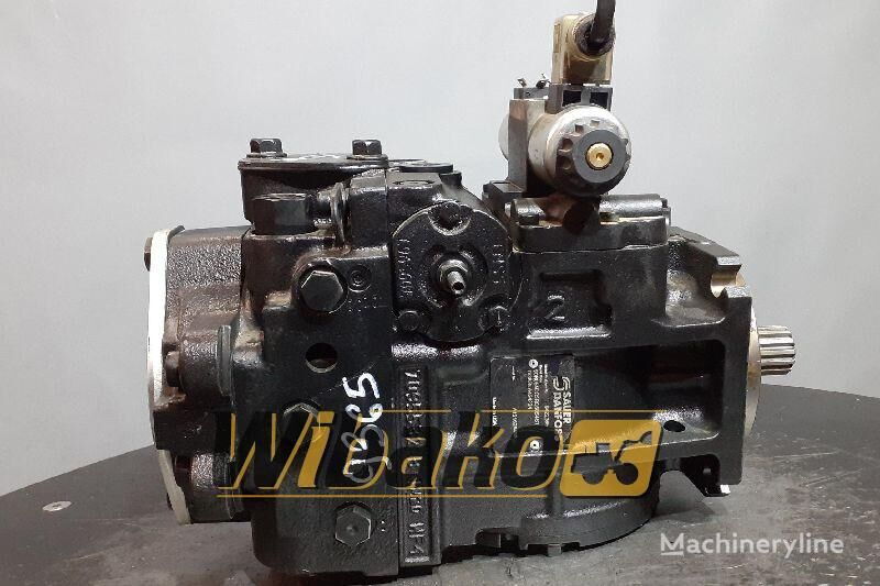 hidraulična pumpa  Hydraulic pump Sauer 90R055 DC5BC60S4S1 DG8GLA424224 (90R055DC5BC60S4S1DG8GLA424224) za bagera 90R055 DC5BC60S4S1 DG8GLA424224