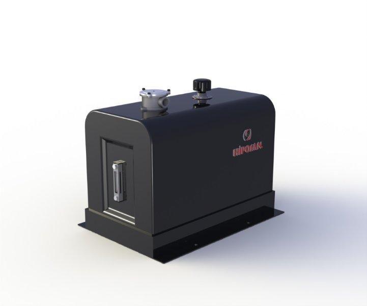 novi hidraullični rezervoar  bokovoy 180 l zheleznyy za tegljača