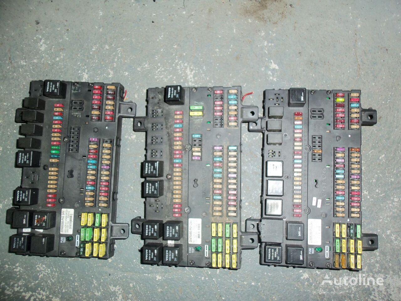 kutija s osiguračima  VOLVO FH13 fuse and relay center, central electrical box 20568055, 21732199 za tegljača VOLVO FH13
