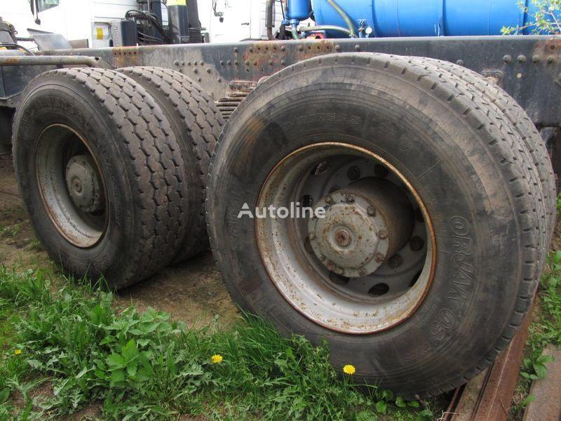 most  TYLNE MOSTY TANDEM, 2 X REAR DIFFERENTIAL MAN 8X4 8X8 za kamiona MAN 35-414 F2000 8X4