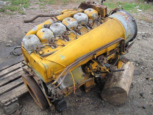 motor  Deutz BF6L913 za bagera