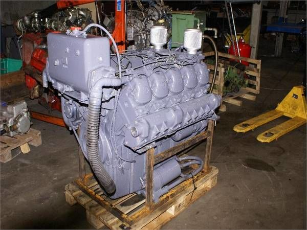 motor za Ostale opreme MERCEDES-BENZ OM444LA