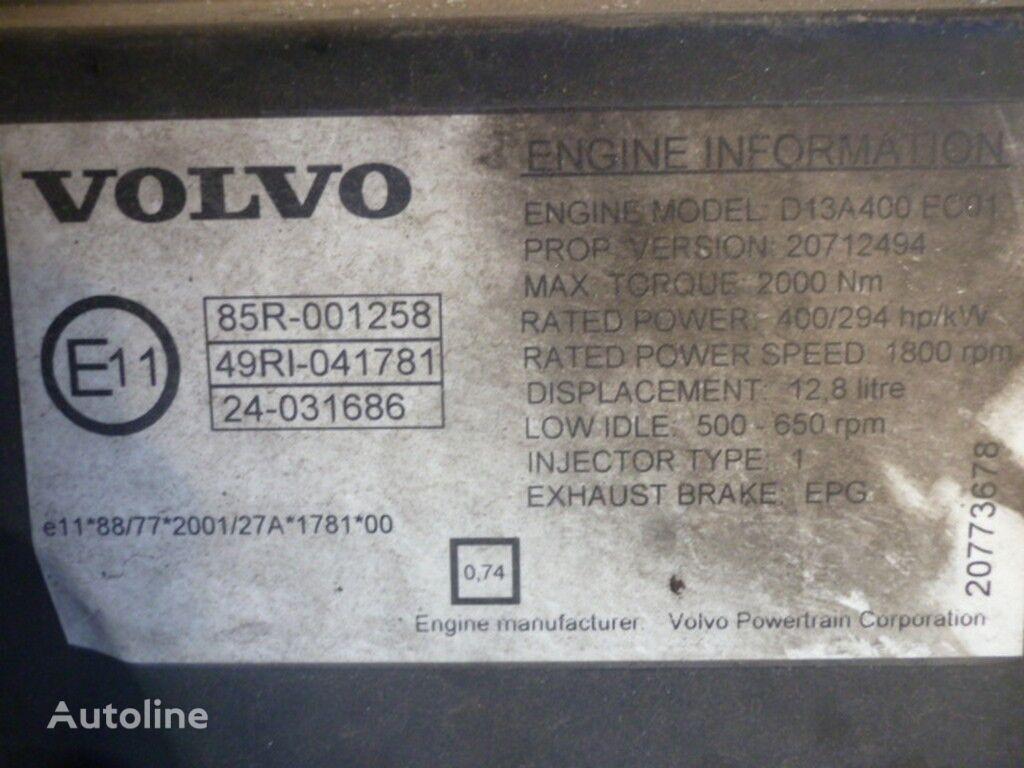 motor  Volvo D13A400 EC01 za kamiona VOLVO