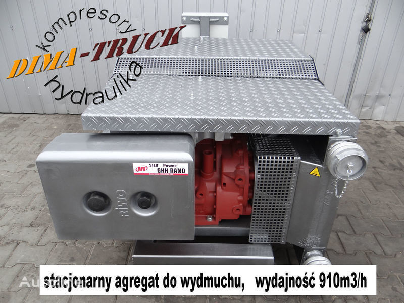 novi pneumatski kompresor  CS80 agregat elektryczny za kamiona Agregat elektryczny GHH CS80