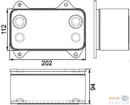 novi radijator  DAF 1667565.8MO376733421 za tegljača DAF