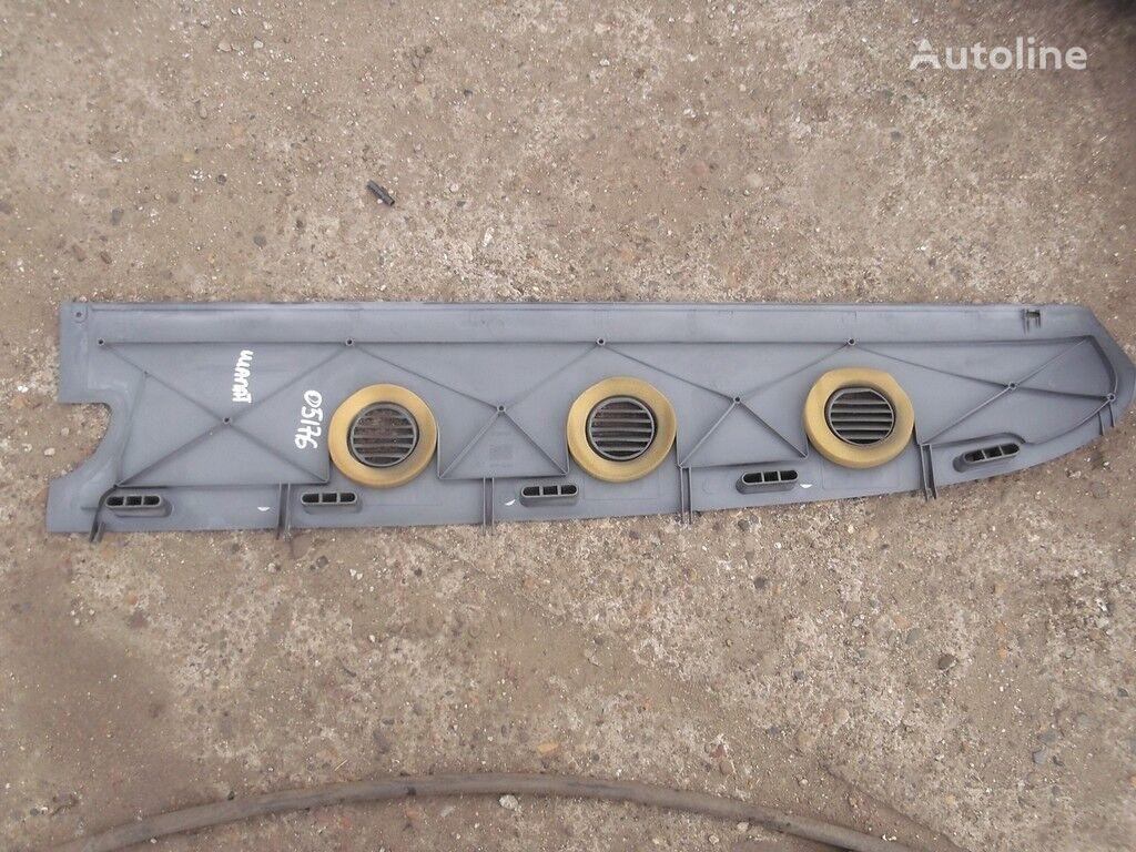 rezervni delovi  Nakladka-vozduhovod peredney paneli RH Scania za kamiona