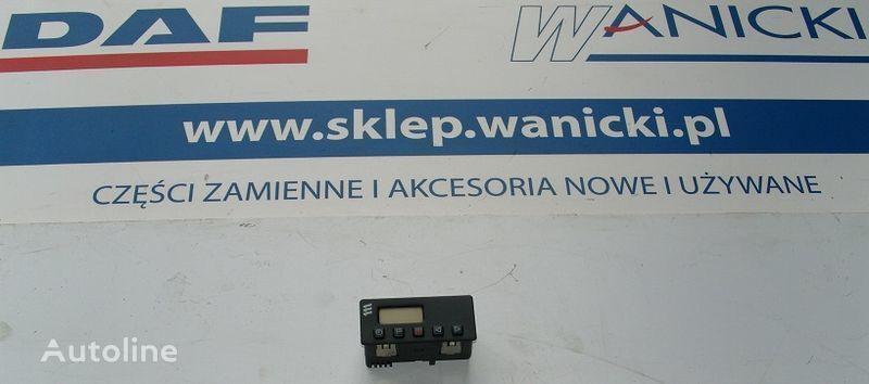 rezervni delovi  DAF Panel tylny, kontrolka, sterownik ogrzewania WEBASTO, COVER PLATE WEBASTO za tegljača DAF CF 65, 75, 85