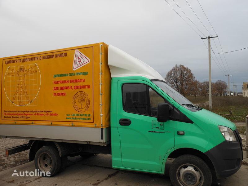 novi spojler za kamiona GAZ NEXT
