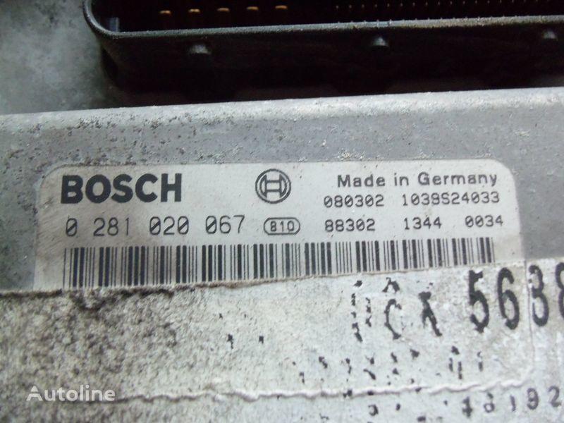upravljačka jedinica  MAN EDC 480PS D2676LF05 ECU BOSH 0281020067 EURO4, 51258037564, 51258037778, 51258037832, 51258037990, 51258037674, 51258337008 za tegljača MAN TGX