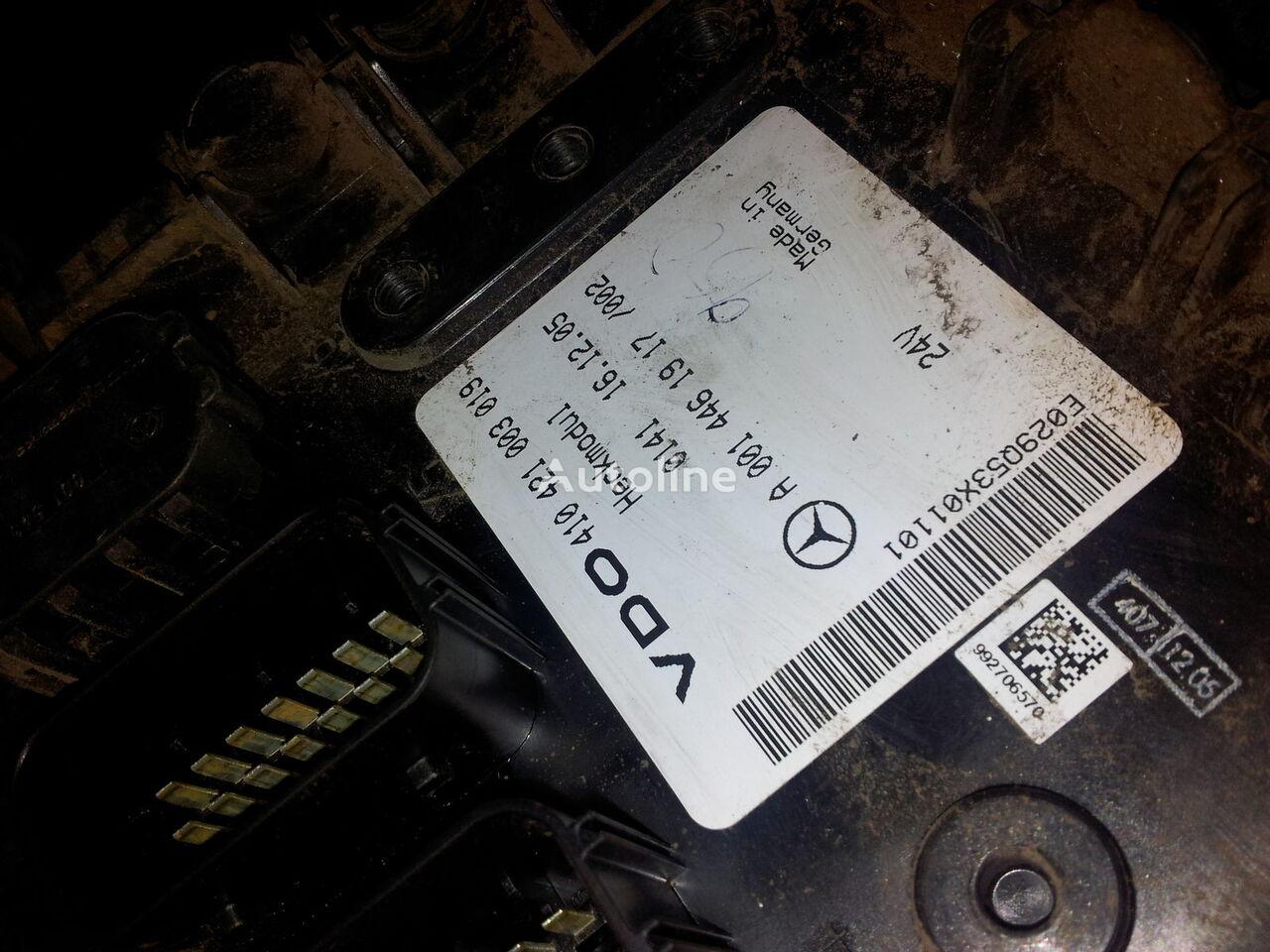 upravljačka jedinica  MB Actros MP2, MP3, Heckmodul, control unit, EDC, ECU, rear module electronics, 0014461917, 0014462817, 0014462017,0014461917,0014462717,0014461617, 41021003020, 410421003019, 0014462817 za tegljača MERCEDES-BENZ Actros MP2; MP3