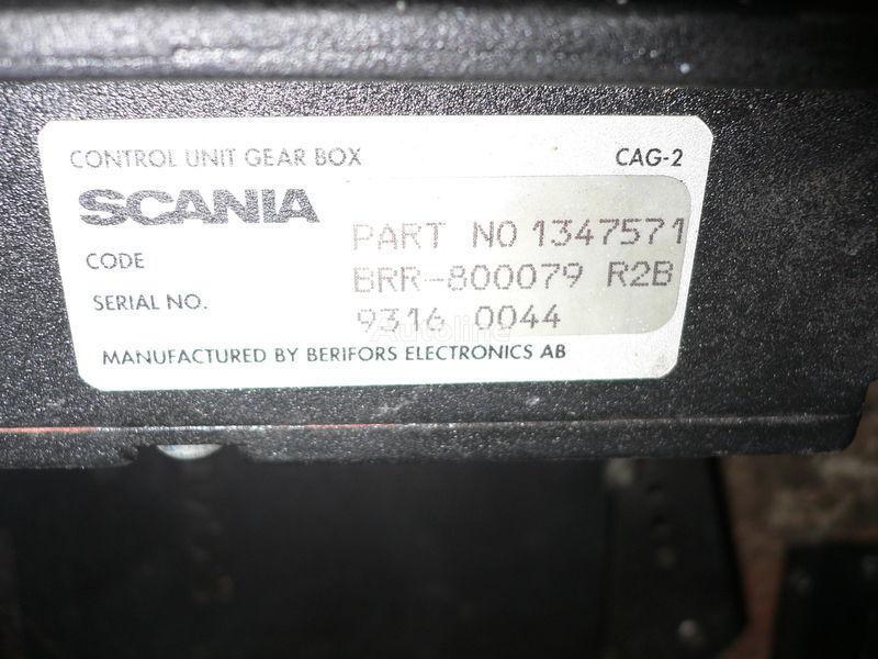 upravljačka jedinica  Scania GEAR BOX 1347571 . 1362616 . 1505135 . 488207. 1434153. 1368153. 1360315 za autobusa SCANIA 113