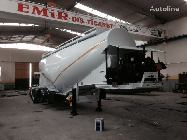šleper za prevoz cementa EMIRSAN Direct from Factory Customized Cement Tankers , Brand NEw