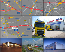Trgovačka stranica ESA Trucks Polska Sp. z o.o.