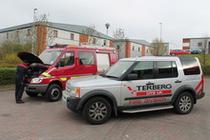 Trgovačka stranica Terberg DTS UK Ltd – Fire & Rescue Division