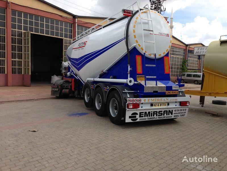 cisterna za cement EMIRSAN Manufacturer of all kinds of cement tanker at requested specs