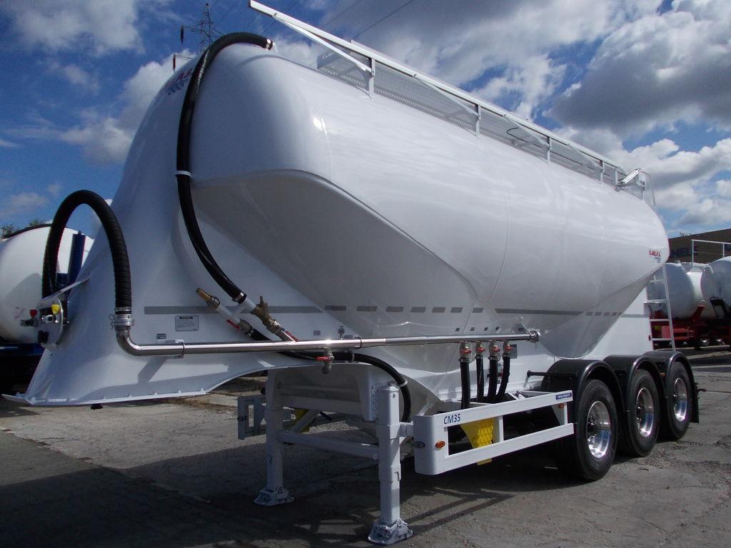 novi cisterna za cement OMEPS CM 35 NOWA !!!