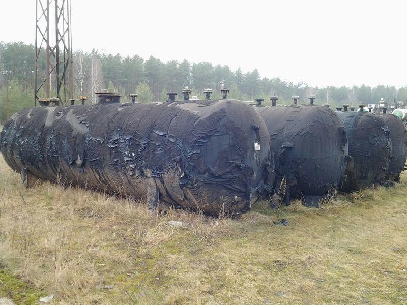 cisterna za gas LPG TANKERS 25000L  4 UNITS