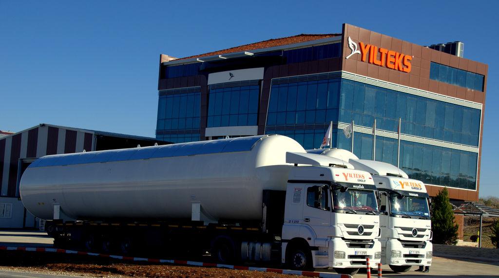 nova cisterna za gas YILTEKS LPG Storage Tank