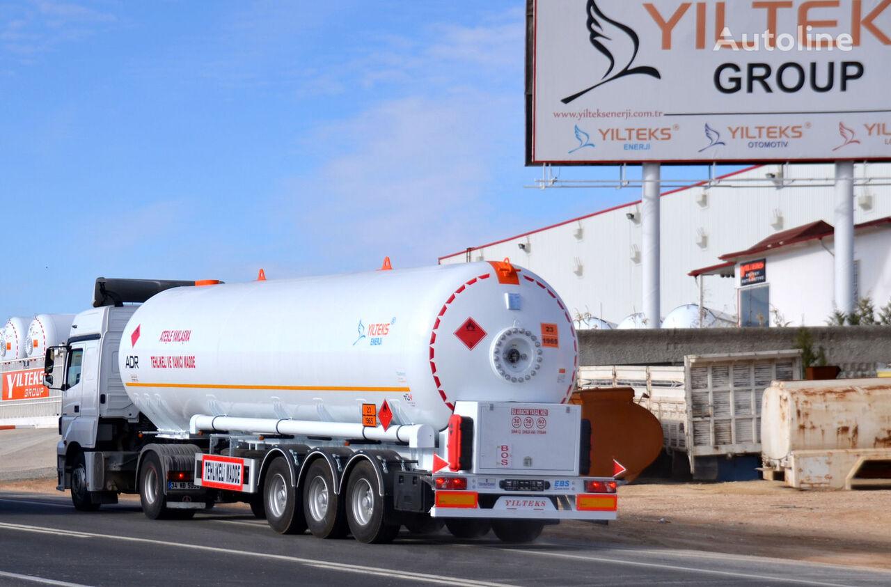 nova cisterna za gas YILTEKS LPG TRAİLER - ADR