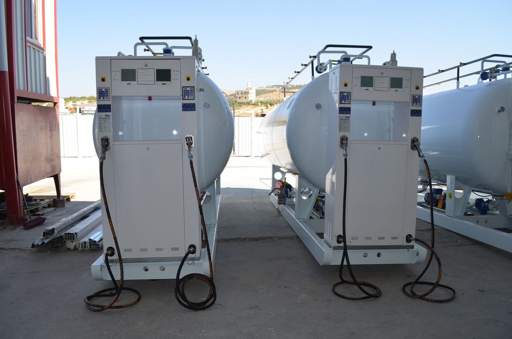 nova cisterna za gas YILTEKS LPG skid Tank