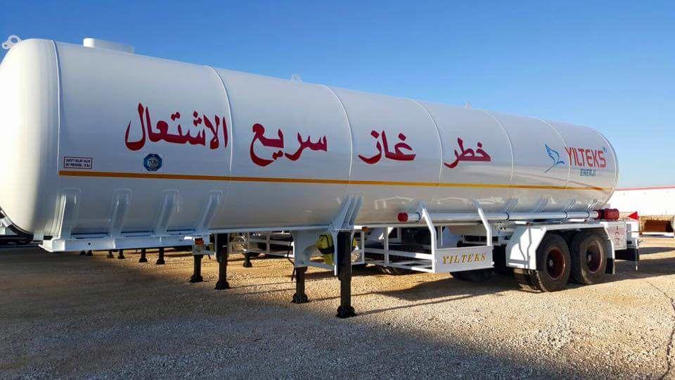 nova cisterna za gas YILTEKS Trailer LPG